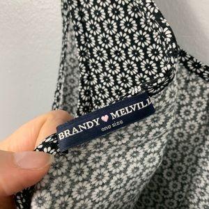 Brandy Melville Tops - Brandy Melville Flower Open Back Tank Top